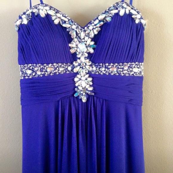 David\'s Bridal Dresses   Mardi Gras Gown Or Prom Dress   Poshmark